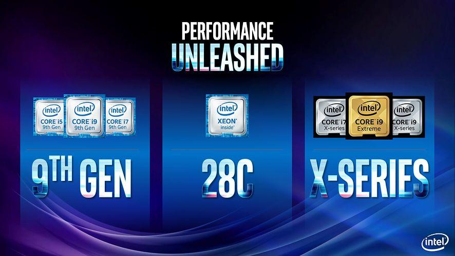 Intel zdradził szczegóły mobilnych CPU z serii H. Core i9-9980HK ma 8 rdzeni i taktowanie 5,0 GHz