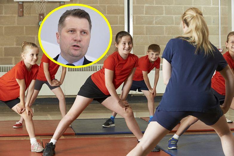 Minister Czarnek chce walczyć z nadwagą w szkołach. Szczególnie u dziewcząt