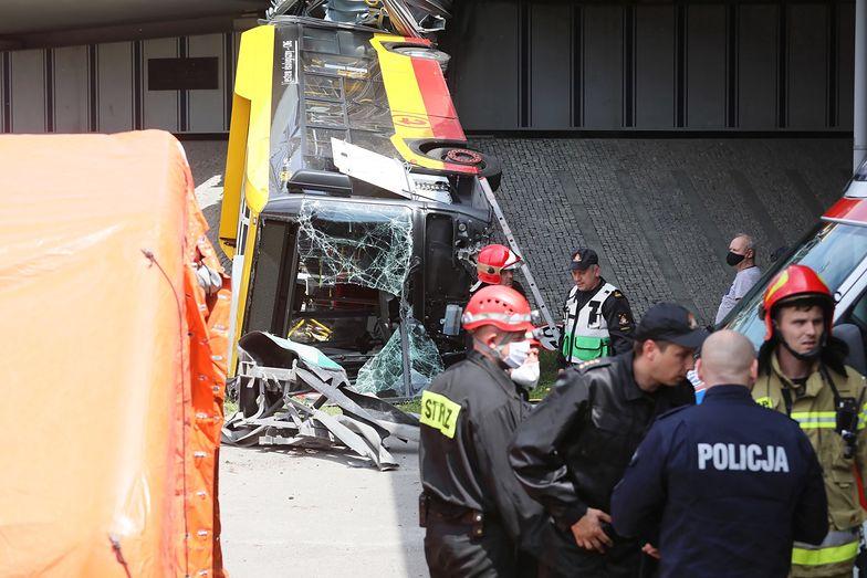 Wypadek autobusu w Warszawie. Prokuratura potwierdza: kierowca był pod wpływem narkotyków