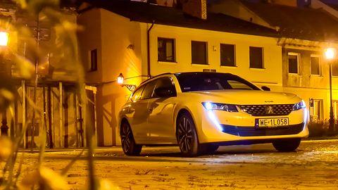 Peugeot 508 SW HYbrid: Night Vision to przydatny dodatek czy zbędny gadżet?