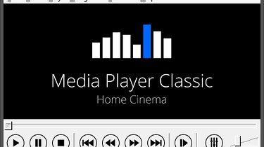 Warto przypomnieć dobry program: Media Player Classic  - To właśnie on...