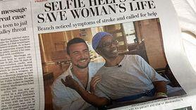 Kobieta rozpoznała objawy choroby dzięki selfie. Zdjęcie uratowało jej życie (WIDEO)