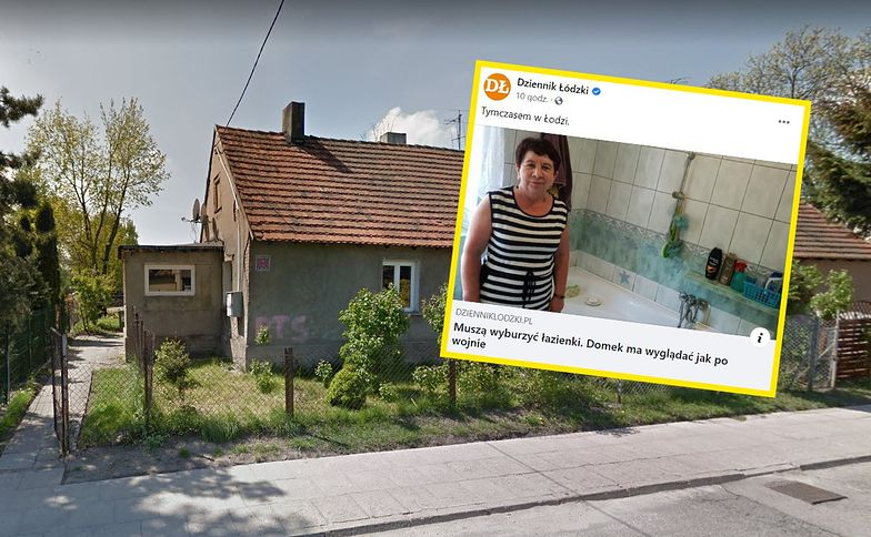 """Łódź. Mieszkańcy mają wyburzyć łazienki. """"Gdzie będę się kąpała?"""""""