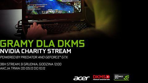 NVIDIA Charity Stream: 36 godzin grania, by wesprzeć Fundację DKMS