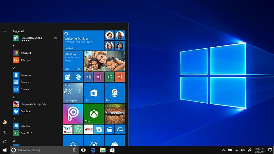 Windows 10 w trycie S, fot. materiały prasowe Microsoft
