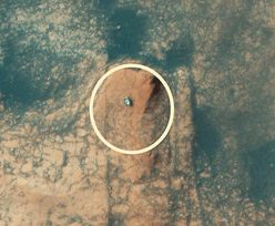 Marsjański krater Gale. NASA pokazała widowiskowe zdjęcie
