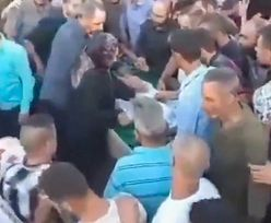 Horror na pogrzebie w Libanie. Żałobnicy oszołomieni