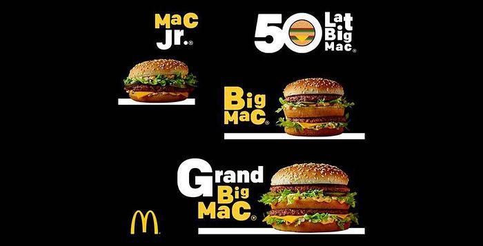 McDonald's, Wycofane Produkty z Menu: Mac Jr. i Grand Big Mac