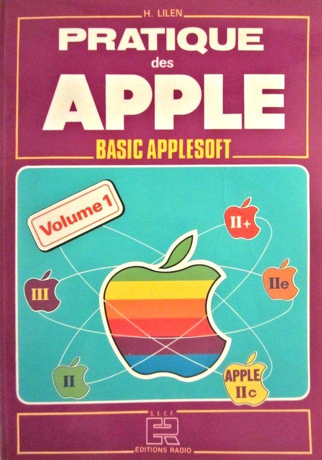 Okładka książki wydanej przez jednego z dystrybutorów komputerów Apple we Francji.