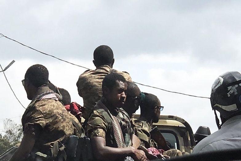 """Szokujące nagranie z Afryki. Wojsko strzela do ludzi. """"Czystka etniczna"""""""