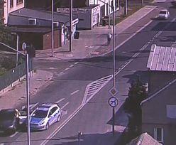Śląsk. Czynna napaść kierowcy bmw na funkcjonariusza. Policja pokazała nagranie