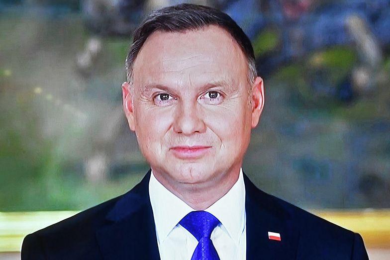 """Noworoczne orędzie Andrzeja Dudy. """"Pokazaliśmy to, co w nas najlepsze"""""""