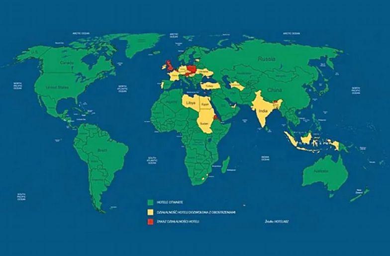 COVID-19. Tak surowe restrykcje jak w Polsce są tylko w 8 państwach świata