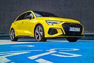 Test Audi S3 Sportback: Drogi, żółty i naszpikowany technologiami