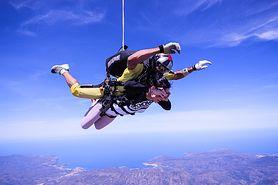 Skok ze spadochronem - we dwójkę czy grupowo, zdrowie, cena, inne sporty ekstremalne