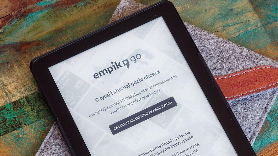 Empik Go na czytnikach inkBOOK – płacisz abonament, czytasz ile chcesz [+kody]