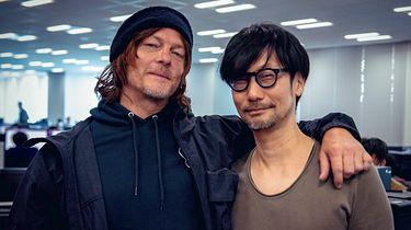 Death Stranding z oficjalną liczbą sprzedanych egzemplarzy - Od lewej: Norman Reedus i Hideo Kojima
