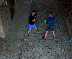 Kostrzyn nad Odrą (Lubuskie). Sparing bokserski na Starym Mieście