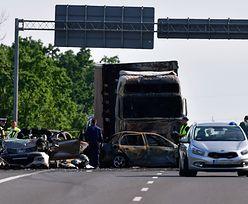 Tragedia na A6 pod Szczecinem. Kierowca tira zatrzymany
