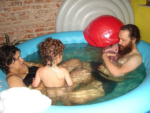 Poród rodzinny w wodzie