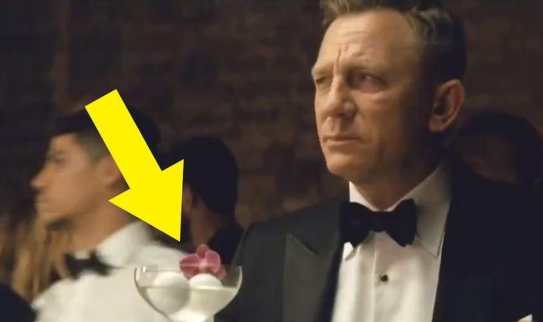 James Bond krzywi się na widok martini? Reklamodawca musiał dobrze zapłacić