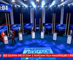 Krzysztof Bosak złamał zasady debaty. Prowadzący z TVP musiał interweniować