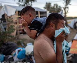 Grecja. Imigranci podpalili ośrodek na Lesbos. Nie żyje matka i dziecko