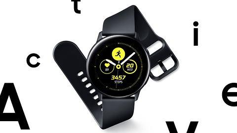 Samsung Galaxy Watch Active i Galaxy Fit – nowy smartwatch i opaski dla aktywnych