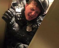 Dramatyczne nagranie z Kapitolu. Policjant krzyczał z bólu