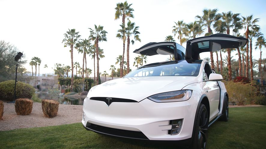 Tesla Model X była podatna na atak, fot. Getty Images