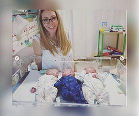 Trojaczki przeżyły operację w łonie matki. Teraz są już na świecie
