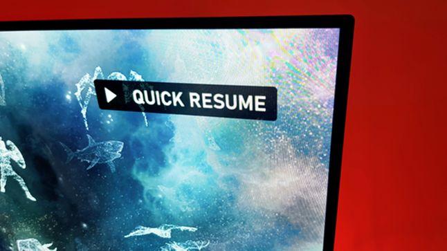 Moment wznowienia gry w Quick Resume to zazwyczaj kilka sekund
