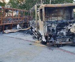 Podpalacze grasują po woj. dolnośląskim. Właściciele autobusu załamani