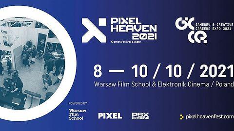 Moc wyjątkowych wydarzeń podczas Festiwalu Gier Pixel Heaven 2021 w Warszawskiej Szkole Filmowej