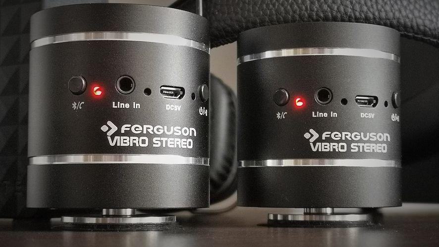 Dwa identyczne głośniki wibracyjne, odpowiednio ustawione, są w stanie wygenerować ciekawy dźwięk