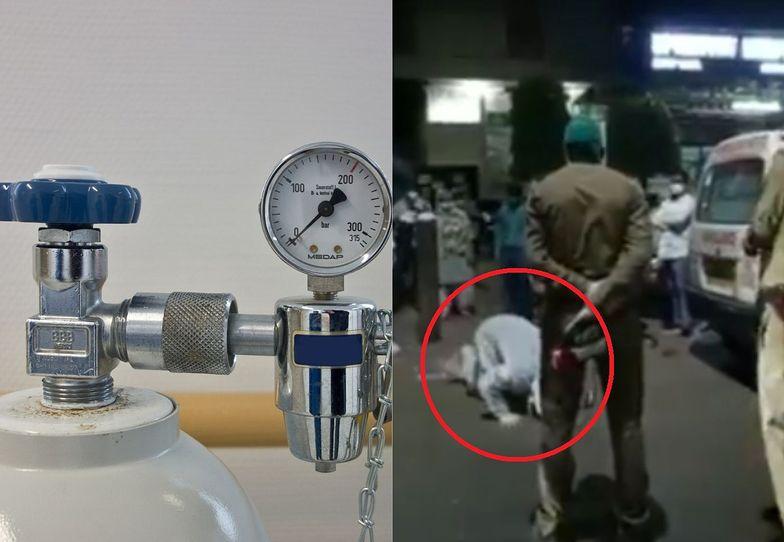 Indie. Policja zabrała kobiecie tlen. Dwie godziny później zmarła