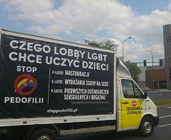 """Przełom ws. homofobicznych furgonetek. """"Takiego orzeczenia w Polsce jeszcze nie było"""""""