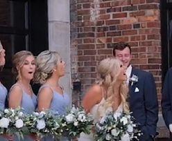 Chcieli zrobić zdjęcie weselne. Goście osłupieli