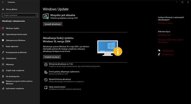 Mechanizm aktualizacji Windows Update działa coraz lepiej, ale nie zawsze chroni przez felernymi łatkami, fot. Oskar Ziomek.