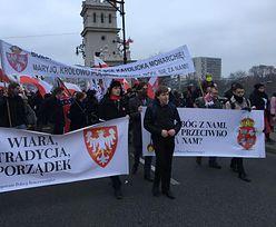 """Marsz Niepodległości. Poseł Konfederacji o Kościele. """"Będziemy was usuwać"""""""