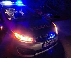 Skandaliczne zachowanie kierowcy Opla. Wiózł dwójkę dzieci