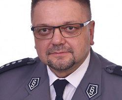 Komendant policji w ciężkim stanie po wypadku. Apel jego kolegów