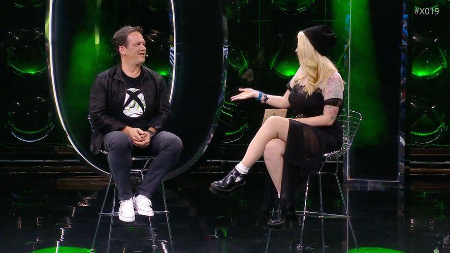 Phil Spencer, szef marki Xbox, na X019, fot. YouTube