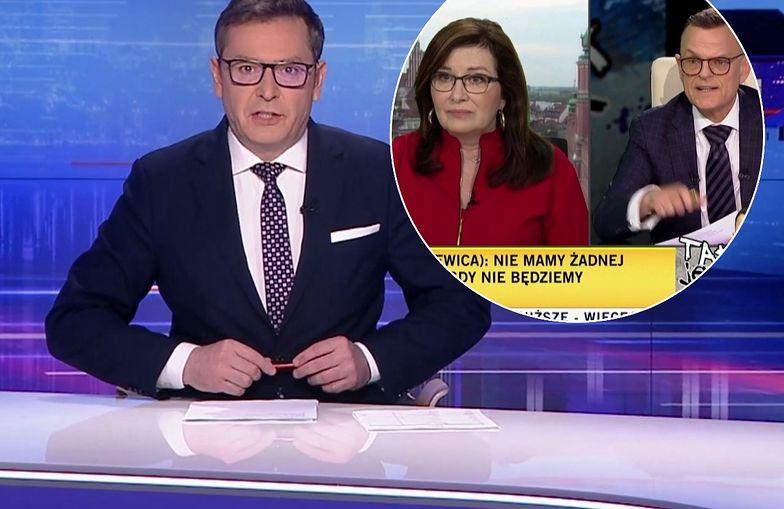 """""""Wiadomości"""" pokazały fragment programu TVN. Dostało się Morozowskiemu"""
