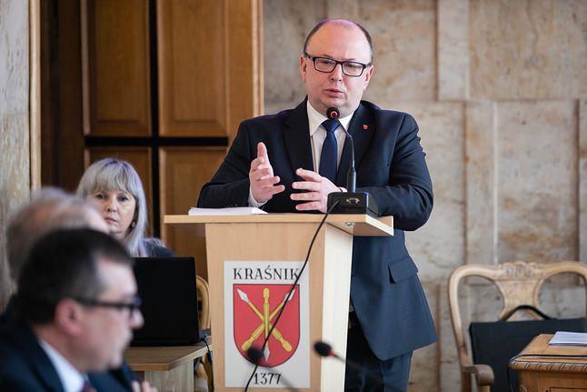 Burmistrz Miasta Kraśnik, Wojciech Wilk, fot. Jakub Orzechowski / Agencja Gazeta