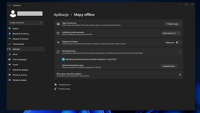 Windows 11 - zrzut ekranu z pierwszej testowej kompilacji