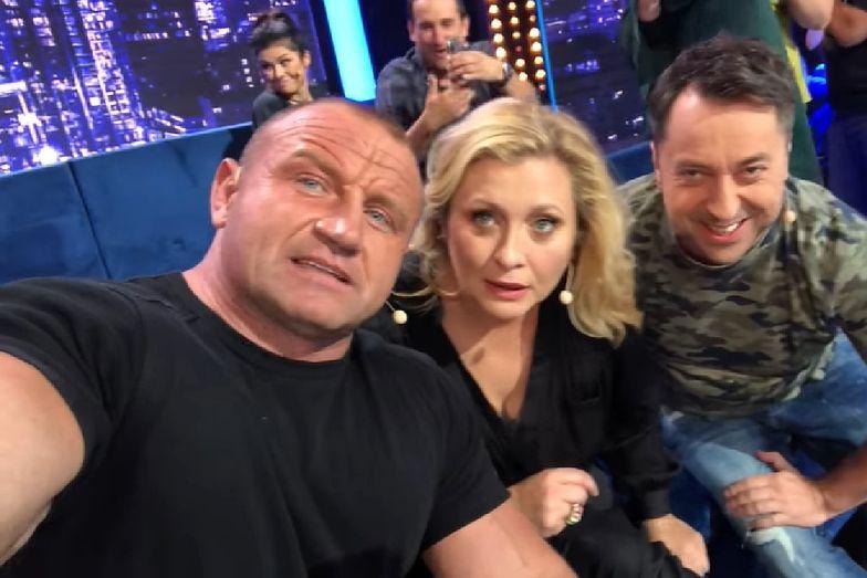 Ale Jazda. Mariusz Pudzianowski pokazał w TVP, jak się robi show