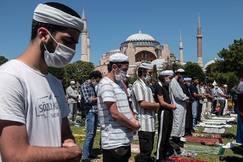 Erdogan dopiął swego. Hagia Sophia zamieniona w meczet
