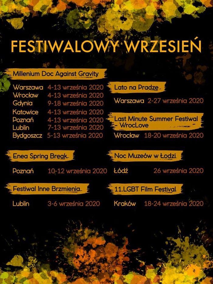 mapa festiwali