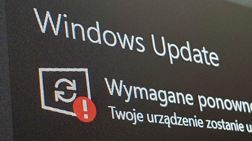 Windows 10 otrzymał kolejną aktualizację, fot. Oskar Ziomek
